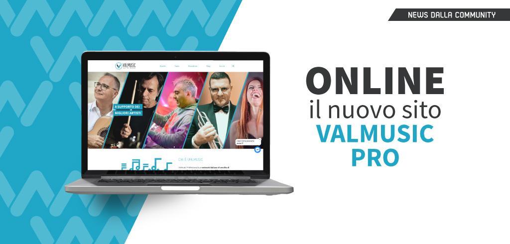 Online il nuovo sito Valmusicpro.com